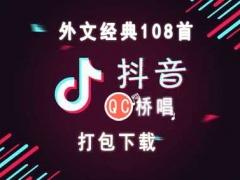 108首抖音外文歌曲打包下载