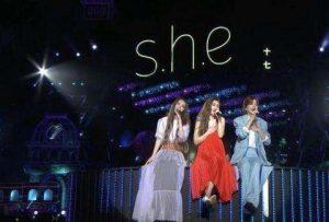 83首SHE组合成名曲打包下载